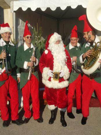 Parades et déambulations de Noël